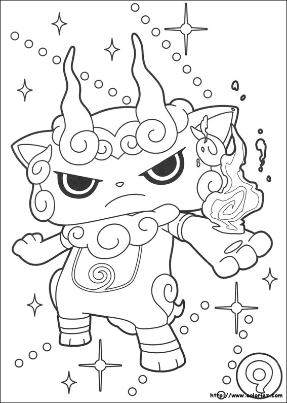 Assez Index of /images/coloriage/yokai-watch HF14