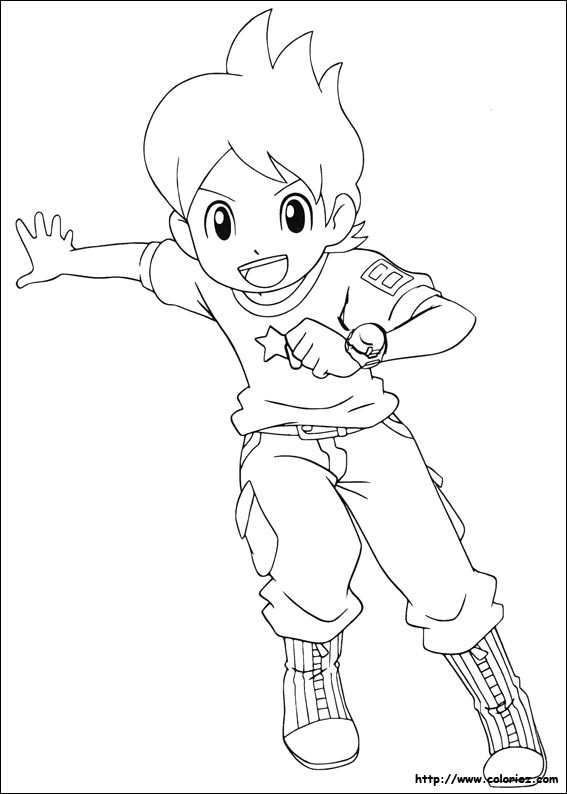 Index of images coloriage yokai watch - Coloriage nathan ...
