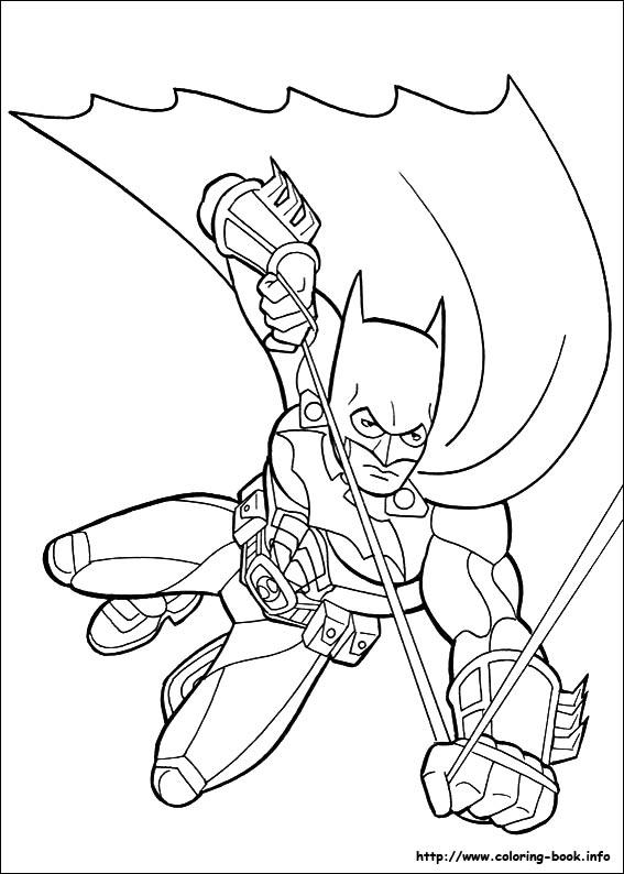 Coloriage batman - Coloriez com images coloriages ...