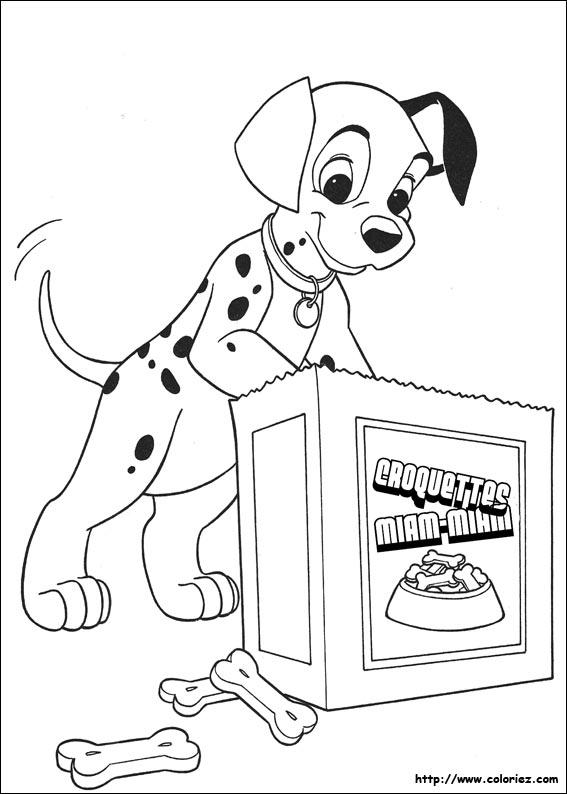 Coloriage les 101 dalmatiens - Coloriez com images coloriages ...