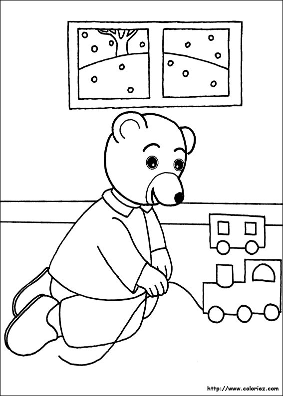 Coloriage petit ours brun - Coloriez com images coloriages ...