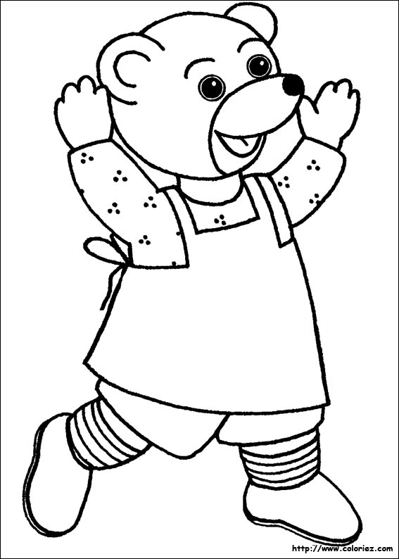 Coloriage petit ours brun - Coloriage a imprimer petit ours brun ...