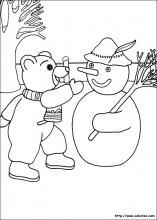 Coloriages de petit ours brun sur - Coloriage a imprimer petit ours brun ...