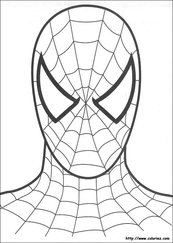 Coloriage spiderman - Coloriez com images coloriages ...