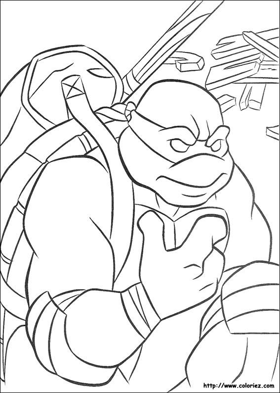 Coloriage tortues ninja - Coloriez com images coloriages ...