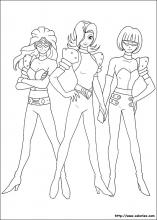 Coloriage des Repo Girls