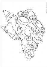 Coloriages d' robot ami d'Astro boy