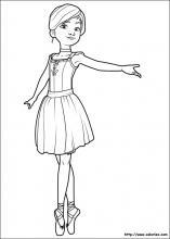 Coloriage Ballerina Choisis Tes Coloriages Ballerina Sur
