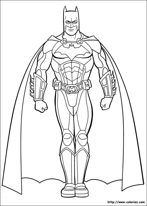 Imprimer Le Coloriage Voir Le Dessin Coloriage Batman 923
