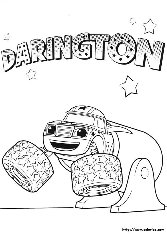 Coloriage Darrington