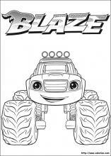 Coloriage Blaze Et Les Monster Machines Choisis Tes