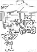 Coloriage Le Camion De Bob Le Bricoleur.Coloriage Bob Le Bricoleur Choisis Tes Coloriages Bob Le Bricoleur