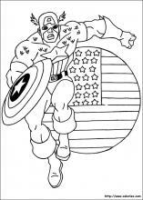 Coloriage Captain America Choisis Tes Coloriages Captain America Sur Coloriez Com