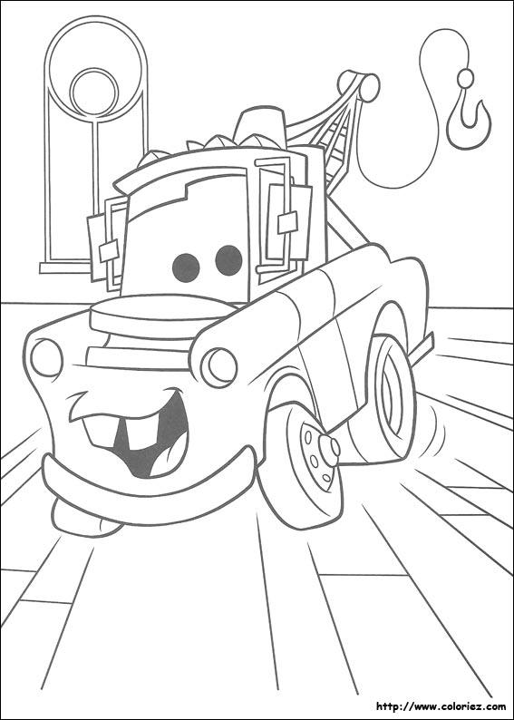Coloriage Cars Et Martin.Coloriage Coloriage De Martin