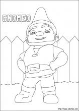 Coloriage de Gnomeo