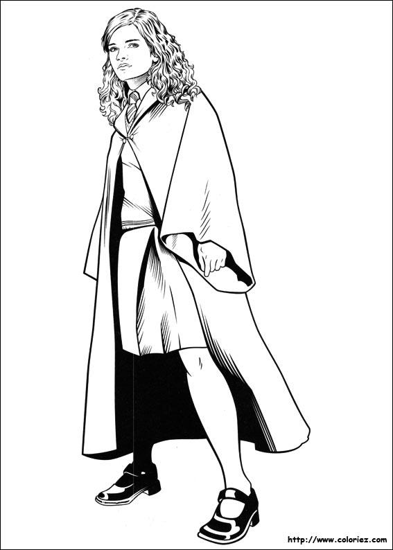 Coloriage Hermione A Imprimer.Coloriage Coloriage De La Belle Hermione