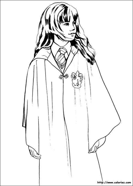 Coloriage Hermione A Imprimer.Coloriage Hermione Granger