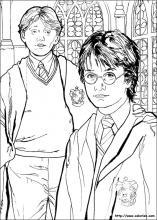 Colorages De Harry Potter Sur Coloriez