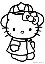 Kitty pompier
