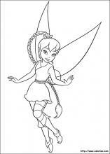 Coloriage Princesse Tresse.Coloriage La Fee Clochette Choisis Tes Coloriages La Fee Clochette