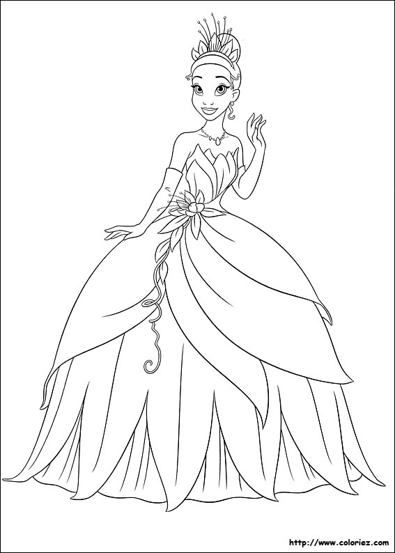 Coloriage tiana - Comment dessiner une monster high ...