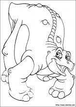 Coloriage Petit Pied Le Dinosaure.Coloriage Le Petit Dinosaure Choisis Tes Coloriages Le Petit