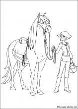Coloriage Cheval Le Ranch.Coloriage Le Ranch Choisis Tes Coloriages Le Ranch Sur Coloriez Com