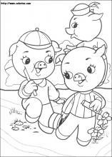 Coloriage Les 3 Petits Cochons Choisis Tes Coloriages Les 3 Petits