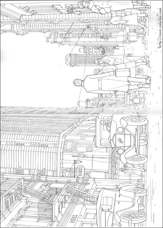 Coloriage Animaux Fantastiques Niffleur.Coloriage Les Animaux Fantastiques 09