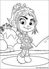 Coloriage Disney Ralph.Les Coloriages Des Mondes De Ralph