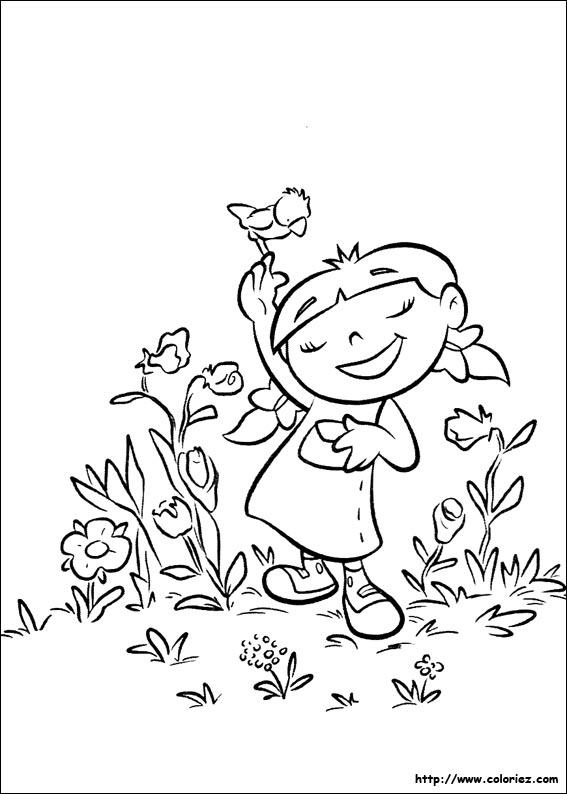 Coloriage Saison Printemps.Coloriage Coloriage De La Saison Preferee D Annie