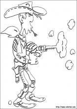 Coloriage Lucky Luke Choisis Tes Coloriages Lucky Luke Sur