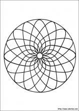 Coloriage Mandala Rond.Coloriage Mandalas Choisis Tes Coloriages Mandalas Sur Coloriez Com