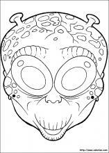 Coloriage Masques D Halloween Choisis Tes Coloriages Masques D Halloween Sur Coloriez Com