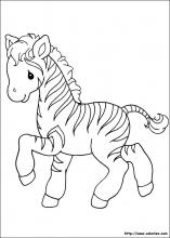 Coloriage Bebe Zebre.Coloriages De Moment Precieux Precious Moments