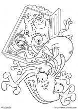 Coloriage Disney Monstre Et Compagnie.Coloriage Monstres Et Cie Choisis Tes Coloriages Monstres