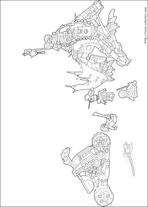 Coloriage Le Dragon émeraude De Lloyd