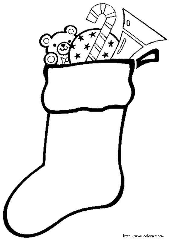 une chaussette bien remplie