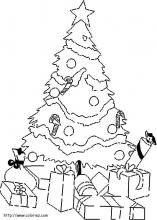 Paysage De Noel A Imprimer.Les Coloriages De Noël
