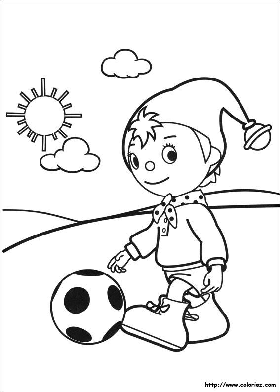 Ballon Pour Coloriage.Coloriage Coloriage De Oui Oui Ballon Au Pied