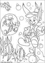 Coloriage Baleine Pinocchio.Coloriage Pinocchio Choisis Tes Coloriages Pinocchio Sur