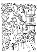 Coloriage Table Princesse.Les Coloriage De La Princesse Leonora