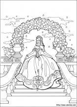 Coloriage De Princesse.Les Coloriage De La Princesse Leonora
