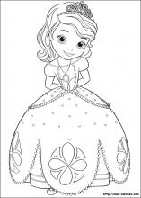 Coloriage Princesse Sofia Choisis Tes Coloriages Princesse
