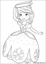 Coloriage Princesse Sofia Choisis Tes Coloriages Princesse