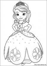 Coloriage Princesse Gratuit.Coloriage Princesse Sofia Choisis Tes Coloriages Princesse Sofia