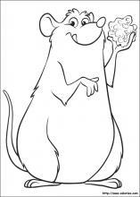Coloriage Facile Ratatouille.Coloriage Ratatouille Choisis Tes Coloriages Ratatouille
