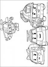 Coloriage Robot Car Polly.Coloriage Robocar Poli Choisis Tes Coloriages Robocar Poli Sur
