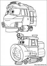 Coloriage Robot Trains Choisis Tes Coloriages Robot Trains Sur