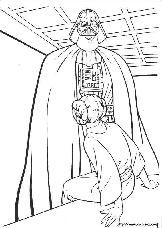 Star Wars, la capture de la princesse Leia